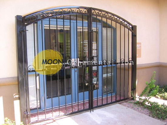 Custom Wrought Iron Gates Glendale By Moon Ornamental Iron