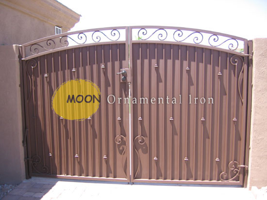 Ornamental Doors Gates Amp Scrolled Wrought Iron Single Gate