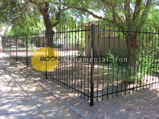 Custom Fences Glendale By Moon Ornamental Iron Arizona 623